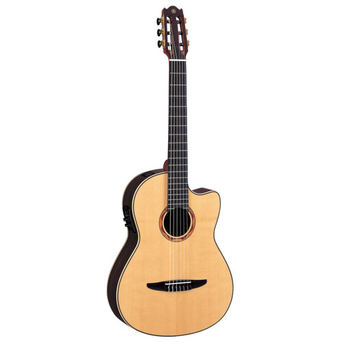 Yamaha NCX2000R Acoustic-Electric Classical Guitar with Case