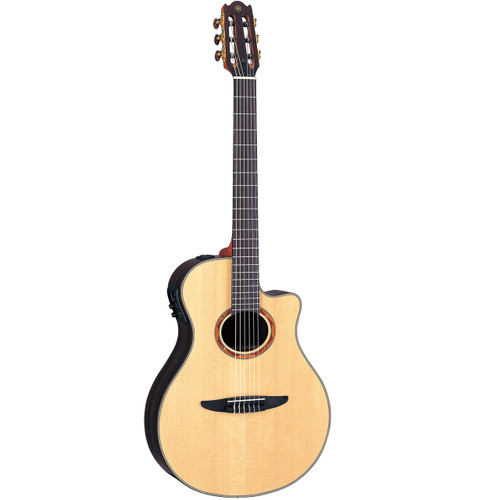 Yamaha NTX1200R Acoustic-Electric Classical Guitar with Case