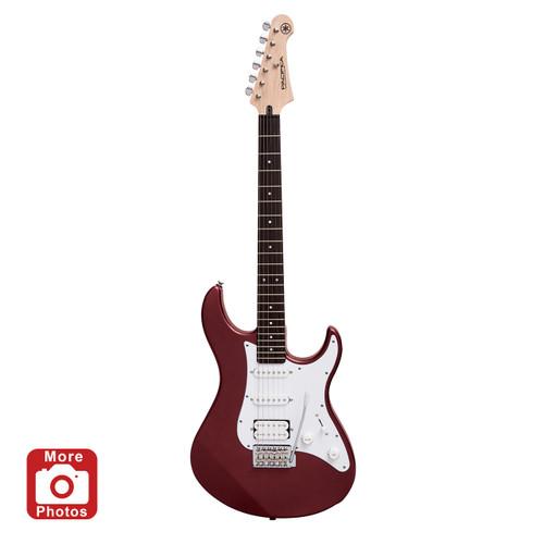 Yamaha PAC012METALLICRED Electric Guitar; Metallic Red