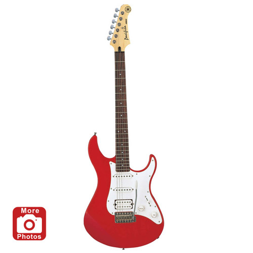Yamaha PAC112JMETALLICRED Electric Guitar; Metallic Red