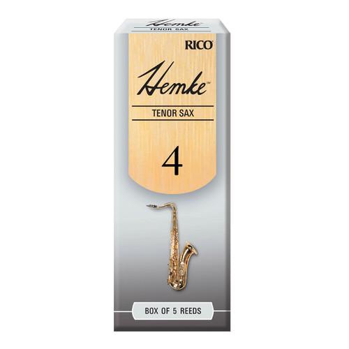 Hemke Tenor Sax Reeds, Strength 4.0, 5-pack