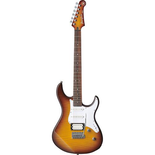 Yamaha  PAC212VFMTBS Electric Guitar; Tobacco Brown Sunburst