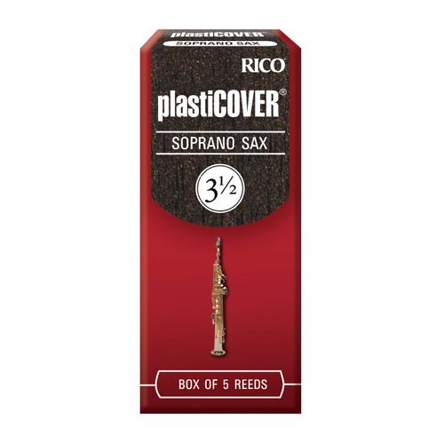 Rico Plasticover Soprano Sax Reeds, Strength 3.5, 5-pack