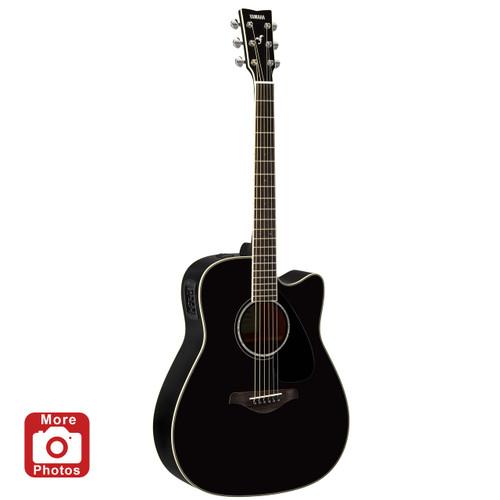 Yamaha FGX830CBL Acoustic-Electric Guitar; Black