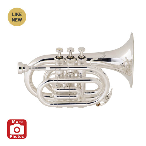 Prelude Student Model PT711S Pocket Trumpet A Stock