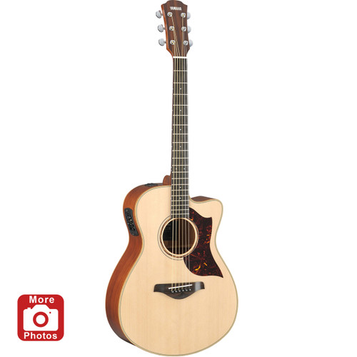 Yamaha AC3MHC Acoustic-Electric Guitar; Concert-Size