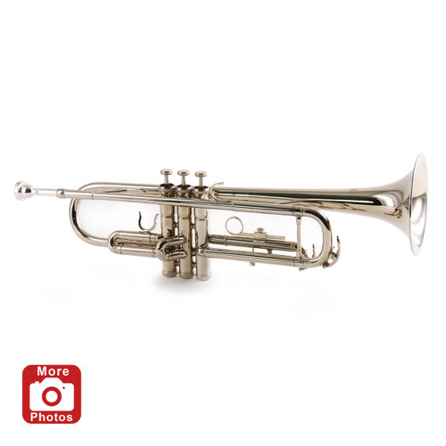 Conductor TR200NII Nickel Plated Student Trumpet - Series II