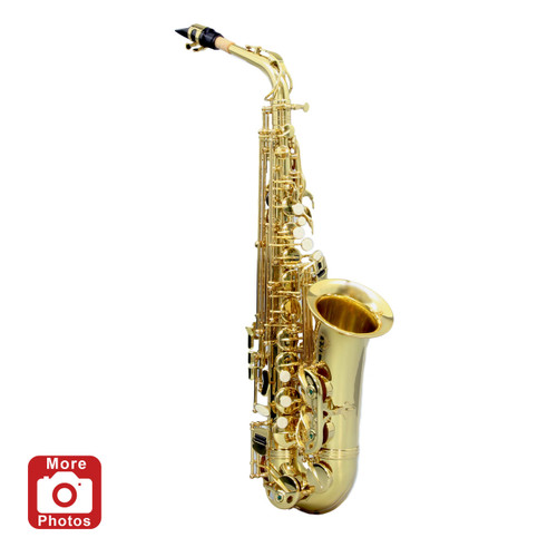 Legacy AS1000 Intermediate Alto Saxophone with Case and Accessories