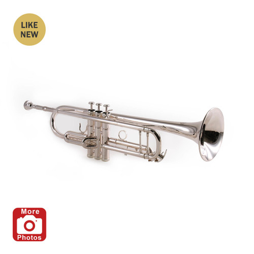 Legacy TR750S Silver Plated Intermediate Trumpet Refurbished A Stock