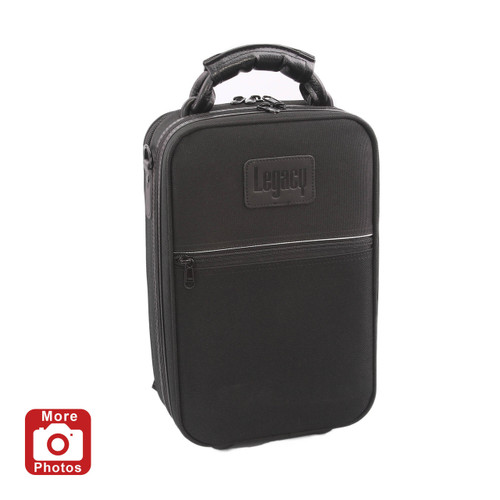 Legacy LCLC200BL Deluxe Clarinet Case, Black