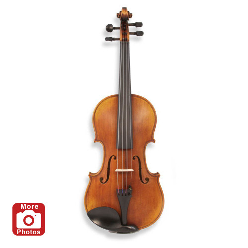Legacy LVN-900 Intermediate Violin, Deluxe Bow, Case, D'Addario Prelude Strings