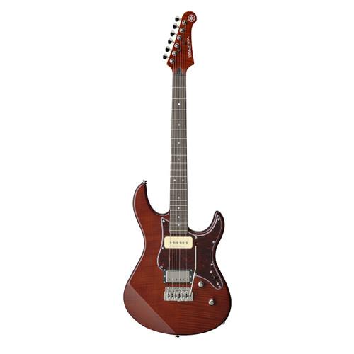 Yamaha PAC611VFMRTB Electric Guitar; Rootbeer