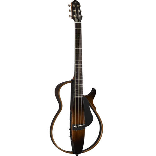 Yamaha SLG200STBL Silent Guitar; Steel String; Translucent Black