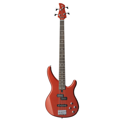 Yamaha TRBX204BRM Electric Bass; Bright Red Metallic