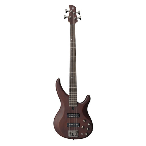 Yamaha TRBX504TBN Premium Electric Bass; Translucent Brown