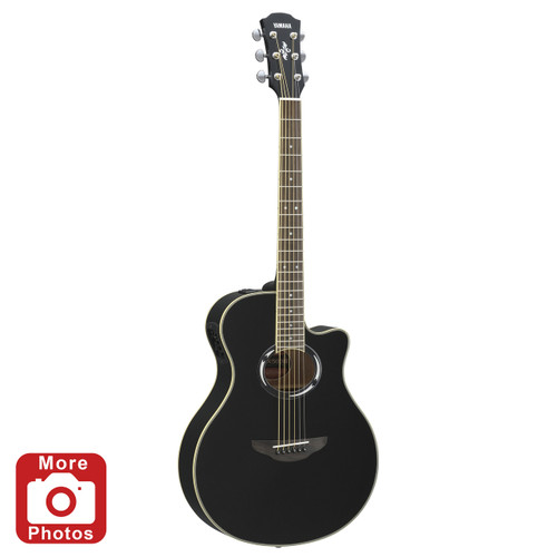 Yamaha APX500IIIBL Thinline Acoustic-Electric Guitar;  Black