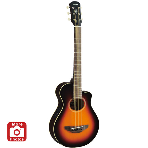 Yamaha APXT2OVS Acoustic-Electric Guitar; Old Violin Sunburst; 3/4 Size
