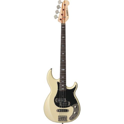 Yamaha BB2024XVW Electric Bass Guitar; Vintage White