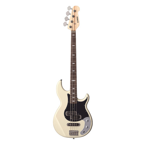 Yamaha BB424XVW Electric Bass Guitar; Vintage White
