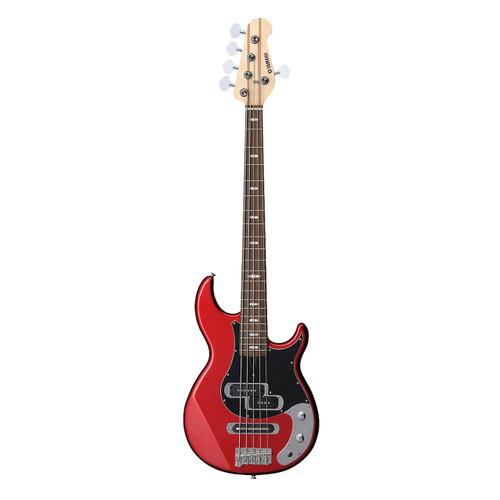 Yamaha BB425XRM Electric Bass Guitar; Red Metallic; 5-String