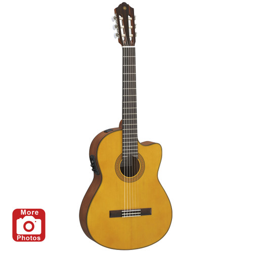 Yamaha CGX122MSC Acoustic-Electric Classical Guitar