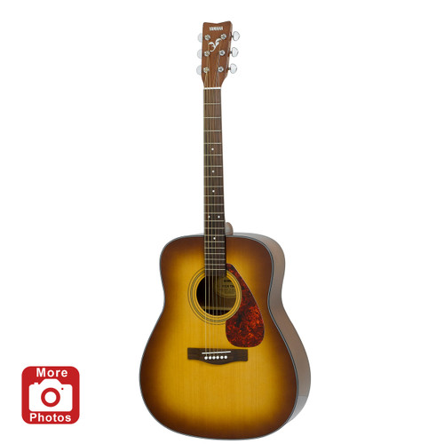 Yamaha F325DTBS Folk Guitar; Tobacco Brown Sunburst