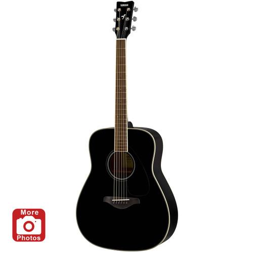 Yamaha FG820BL Acoustic Guitar; Black