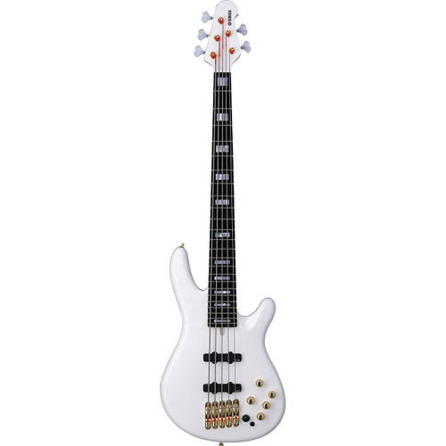 Yamaha BBNE2WHITE Electric Bass Guitar; White; 5-String