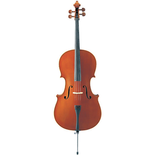 Yamaha AVC5-12S/D-H510 Upgraded Acoustic Cello; 1/2 Size; Helicore Strings
