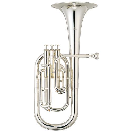 Yamaha YAH-203S Alto Horn; Silver-Plated