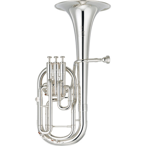 Yamaha YAH-803S Custom Neo Alto Horn; Silver-Plated