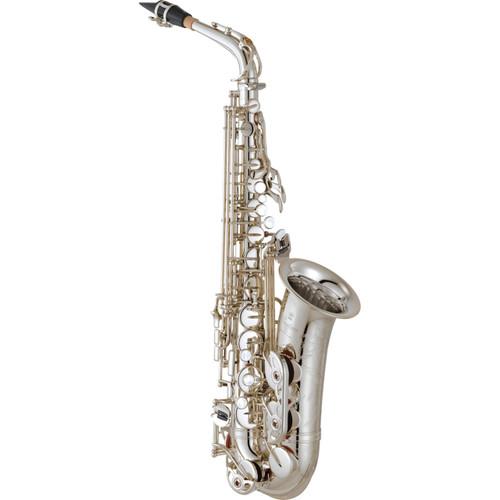 Yamaha YAS-82ZIIS Custom Z Alto Saxophone; Silver-Plated
