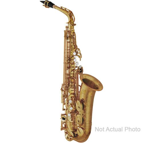Yamaha YAS-82ZIIUWOF Custom Z Alto Saxophone; without High F# Key; Unlacquered