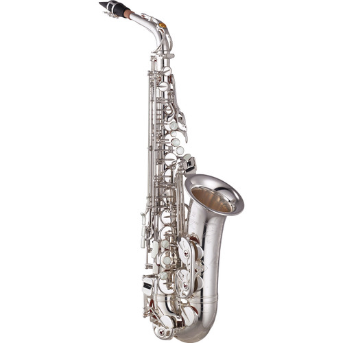 Yamaha YAS-875EXIIS Custom EX Alto Saxophone; Silver-Plated