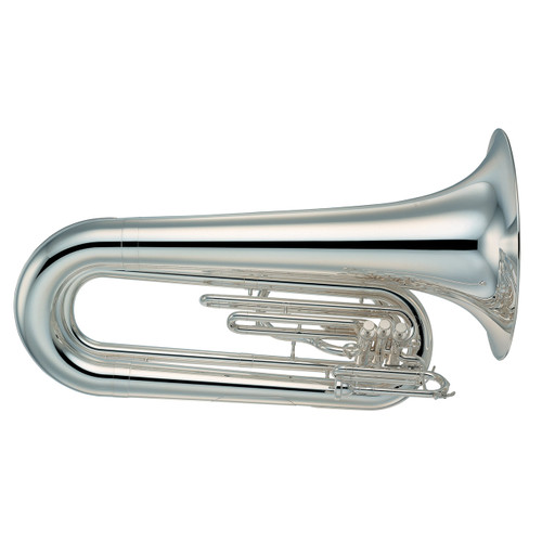 Yamaha YBB-202MS Marching Only Tuba without Case; Silver-Plated
