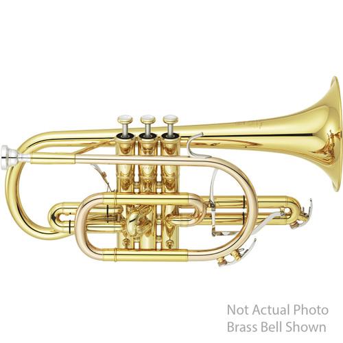 Yamaha YCR-8335IIG Neo Cornet; Shepherd's Crook; Gold-Brass Bell