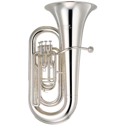 Yamaha YEB-321S Tuba; Silver-Plated