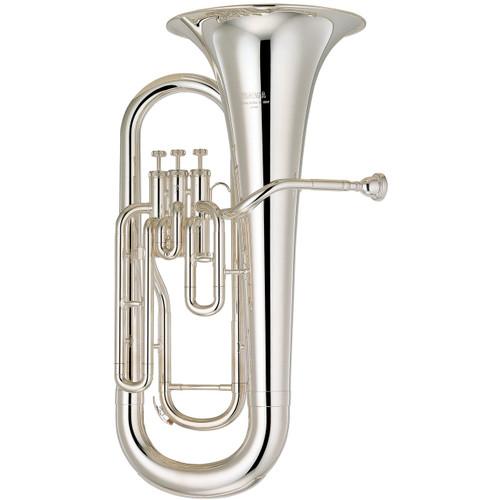 Yamaha YEP-201S Euphonium; Silver-Plated