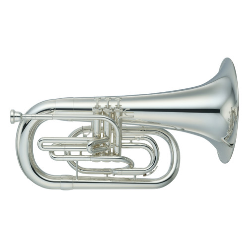 Yamaha YEP-202MS Marching Only Euphonium; Silver-Plated