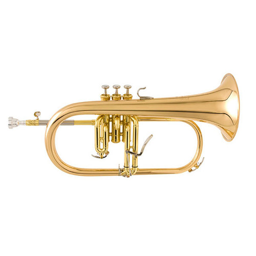 Yamaha YFH-8315G Custom Flugelhorn; Gold-Brass Bell