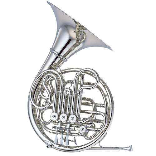 Yamaha YHR-668NDII Horn; Made of Nickel-Silver; Detachable Bell
