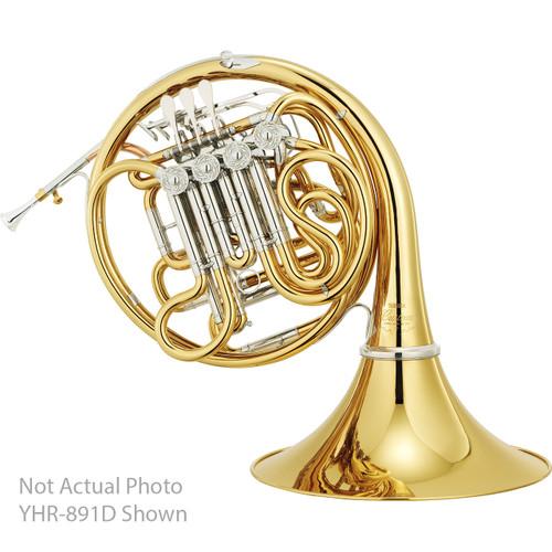 """Yamaha YHR-891DL Custom Horn; """"Triple""""; Detachable Bell; Lacquered"""