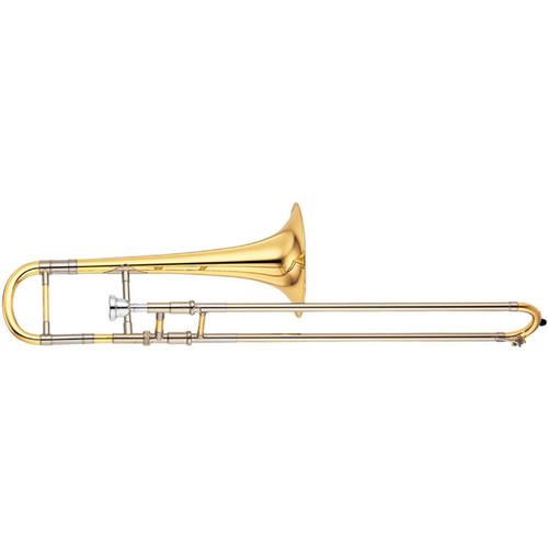 Yamaha YSL-871 Custom Alto Trombone; Dual Bore; Hand-hammered Bell