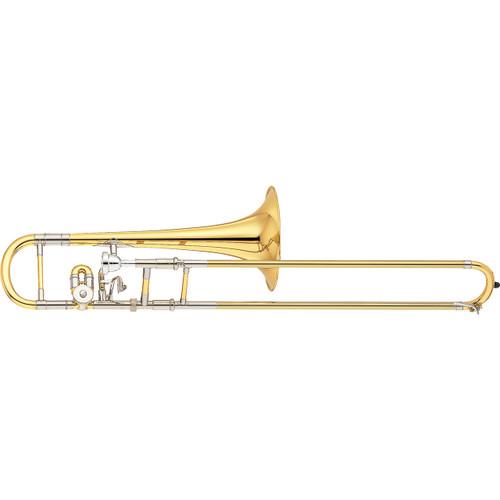Yamaha YSL-872 Custom Alto Trombone; Trill rotor; Dual Bore