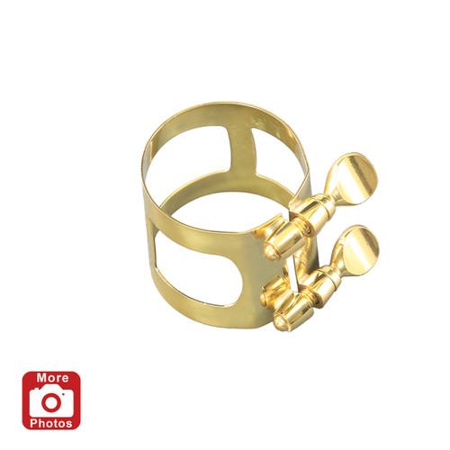 Yamaha YAC-1617 Baritone Saxophone Ligature; Gold Lacquer