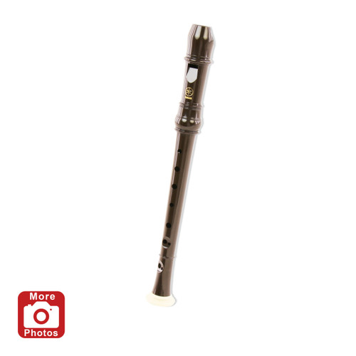 Yamaha YRN-302B Sopranino Recorder; Dark Brown