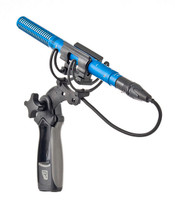 Rycote Duo-Lyre Shock Mount w/ Pistol Grip Handle