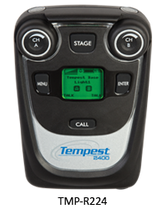 Tempest / Pliant TMP-R224 2.4GHz 2 Channel/2 Listen BeltStation