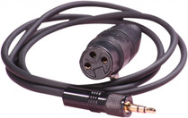 Sennheiser CM1 XLR Female Mic Cable for EW Transmitters