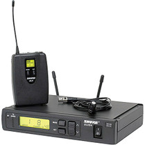 Shure ULX Professional Series - Wireless Lavalier Microphone System  Frequency J1 (554 - 590 MHz)